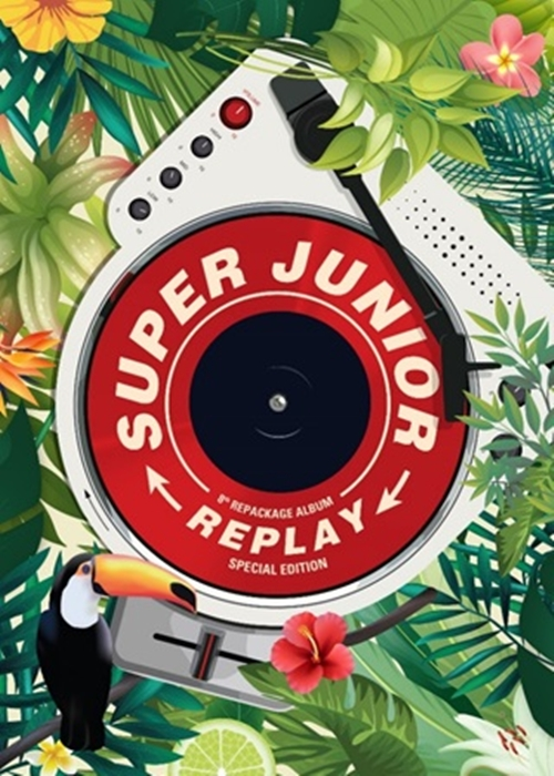 [Pre] Super Junior : 8th Album Repackage - REPLAY (Special Edition) +Poster