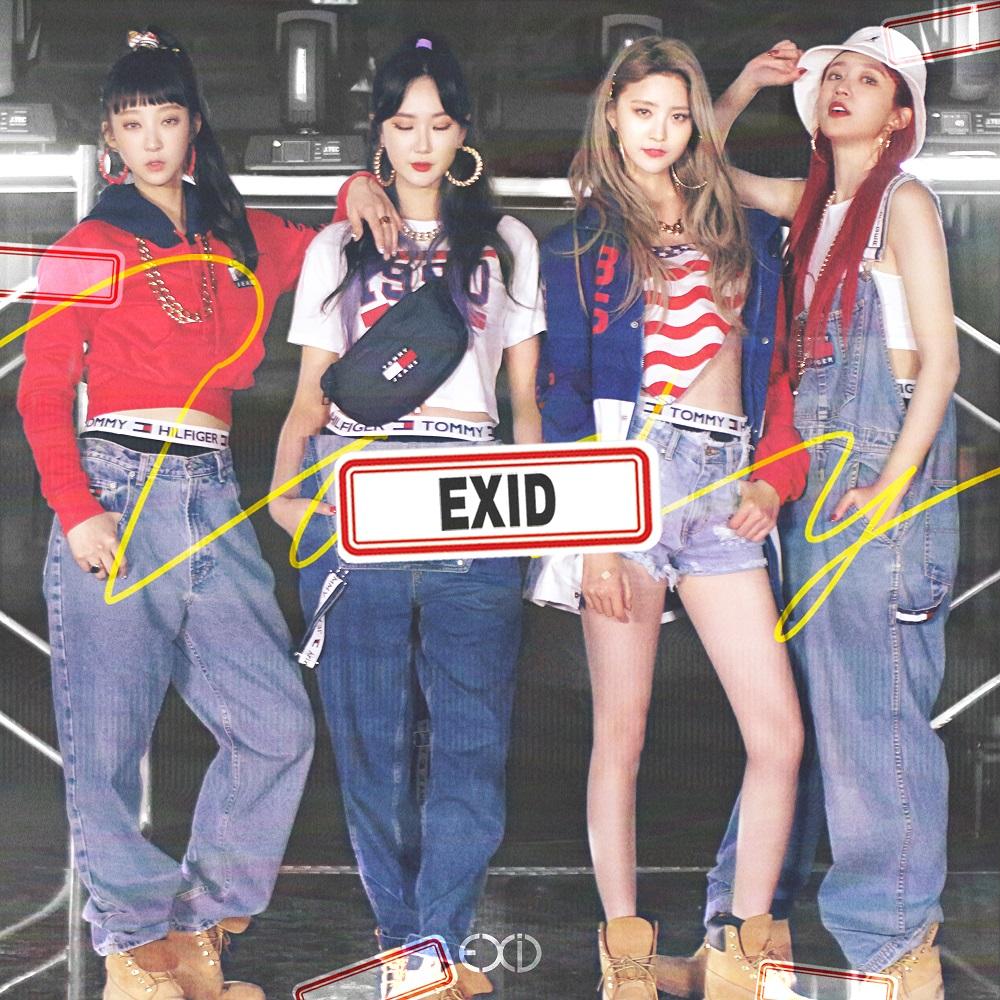 [Pre] EXID : 2nd Single Album - Do It Tomorrow +Poster