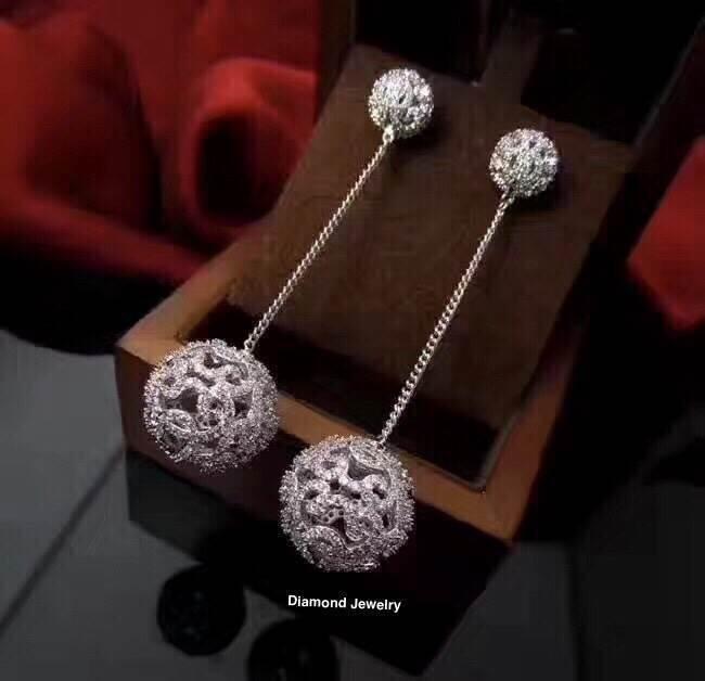 พร้อมส่ง APM Diamond Earring ต่างหูเพชร