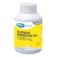 Evening Primrose Oil 1000 mg (100 capsules) น้ำมันอีฟนิงพริมโรสเหมาะกับสุภาพสตรี