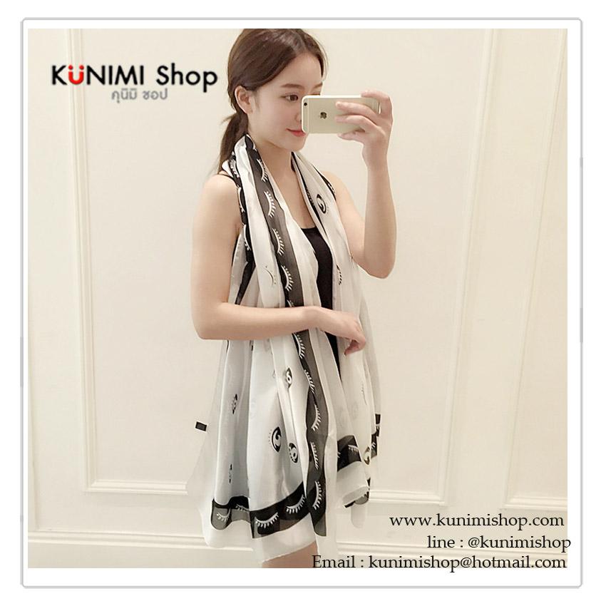 ผ้าพันคอ แฟชั่น ลายสวยเก๋ แบบบาง สามารถใช้พันคอ คลุมไหล่ สวยดูดี ใช้ได้ทุกโอกาส ขนาด : ยาว 175 กว้าง 90 cm. ผ้า : ไหม (บางเทียม)