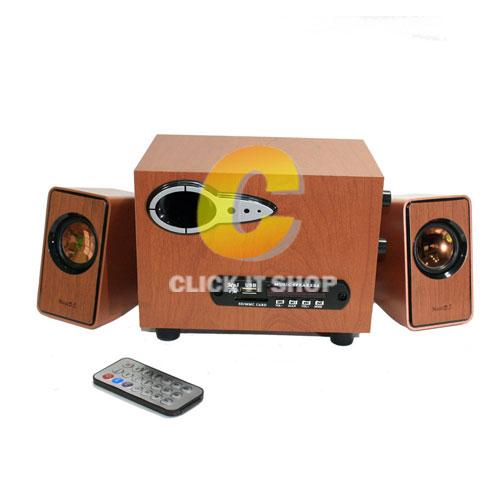 ลำโพง Music D.J. Bluetooth (SP-21) Wood