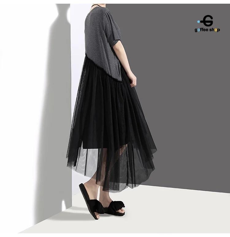 ชุดเดรสเกาหลี พร้อมส่ง Oversize dress