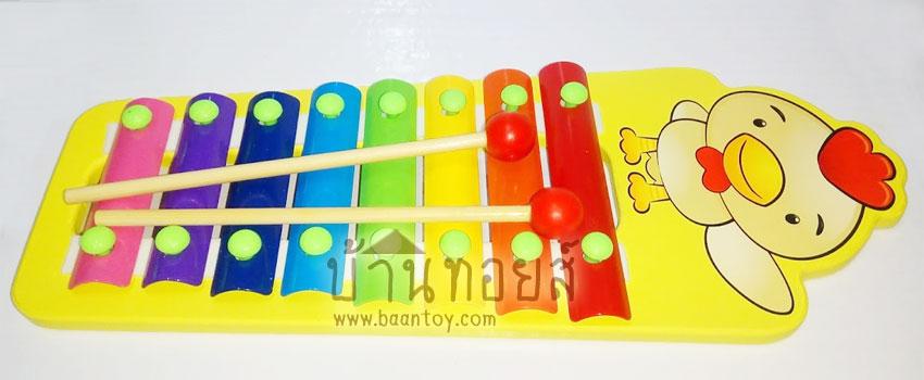ของเล่นไม้ระนาด 8 เสียง ระนาดไม้สำหรับเด็ก