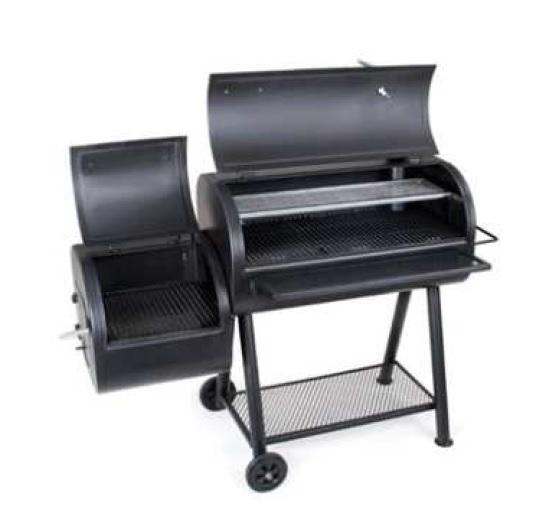 เตาบาร์บีคิว Tri fire-offset smoker