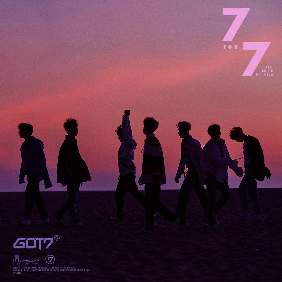 [Pre] GOT7 : Album - 7 for 7 (Random Ver.) +Poster