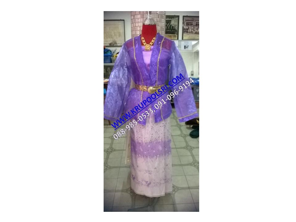 ชุดพม่า หญิง 16