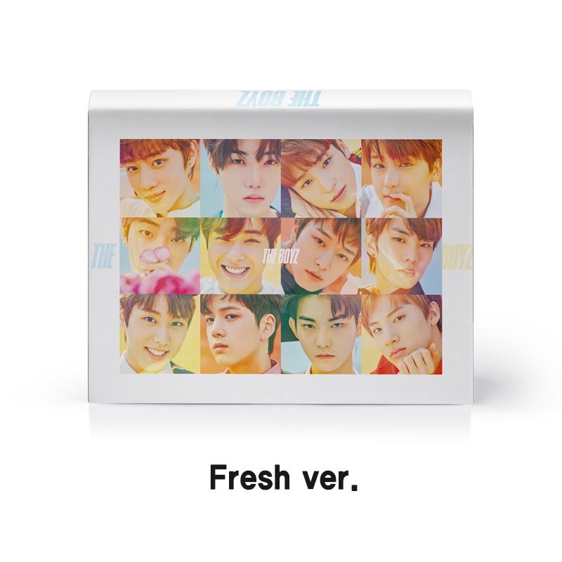 [Pre] THE BOYZ : 1st Mini Album - The First (Fresh Ver.) +Poster