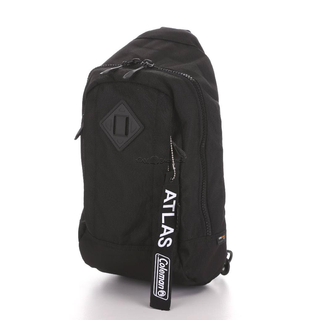 Coleman - ATLAS SLING BAG – 5 L Black (สีดำ) コールマン ボディバッグ アトラス スリングバッグ 対応 自転車/ウォーキング