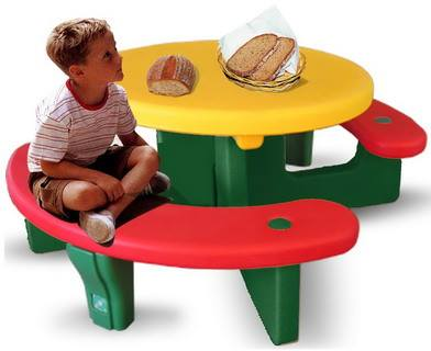 โต๊ะเเสนหวานครบเซ็ท SIZE:107X125X52 cm.