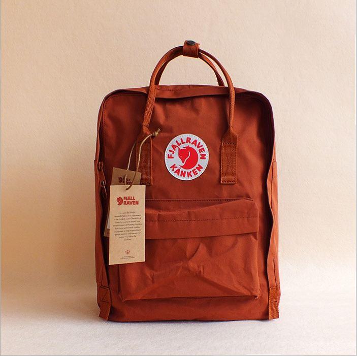 กระเป๋า KanKen คลาสสิค -แดงอิฐ