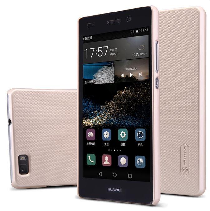 เคส Huawei P8 Lite วัสดุเกรดพรีเมียม ยี่ห้อ Nilkin สีทอง สไตล์เรียบหรู