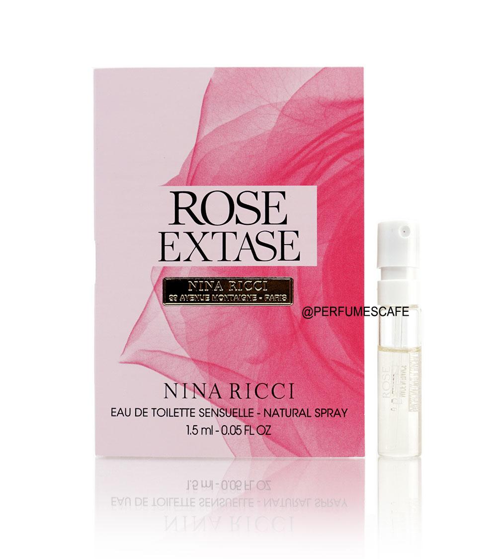 น้ำหอม Nina Ricci Rose Extase Eau de Toilette Sensuelle ขนาดทดลอง 1.5ml