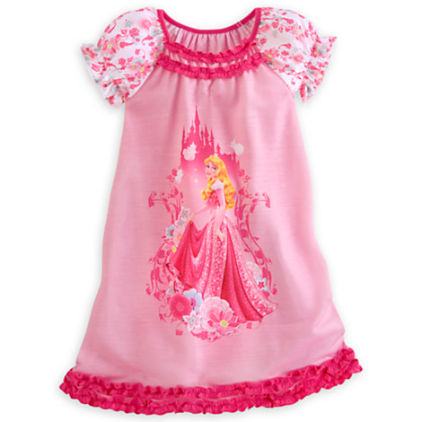 Disney Sleeping Beauty Nightshirt for Girls Size3