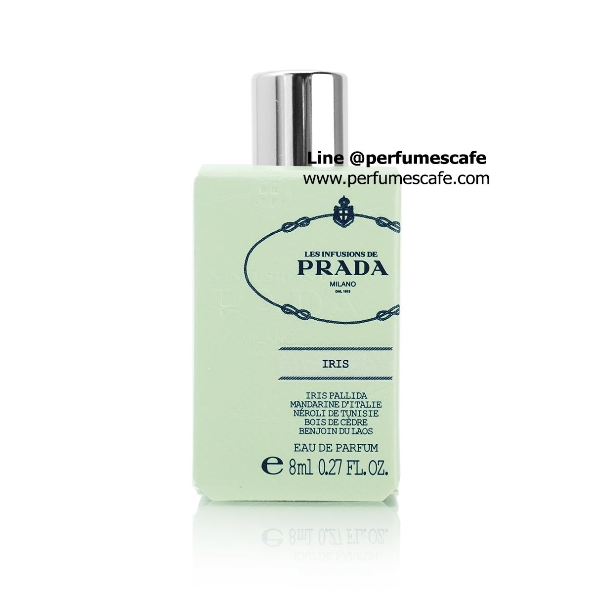 น้ำหอม Prada Infusion d`Iris Eau de Parfum ขนาด 8ml แบบแต้ม