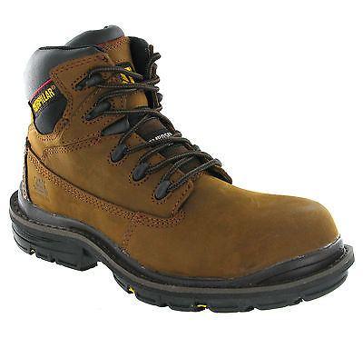 รองเท้า หัวเหล็ก Caterpillar Mens S3 Transition Composite Safety Toe Cap Work Boots Size 40-45