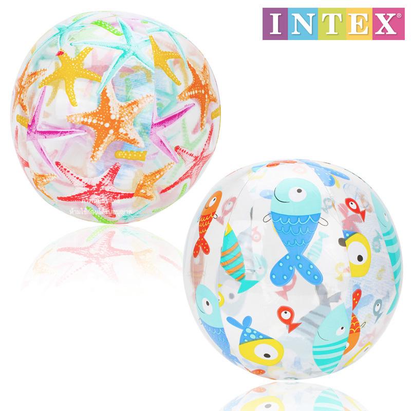 ลูกบอลชายหาด ขนาด 20 นิ้ว (Intex-59040)