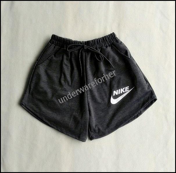 กางเกงขาสั้น สีเทาดำ