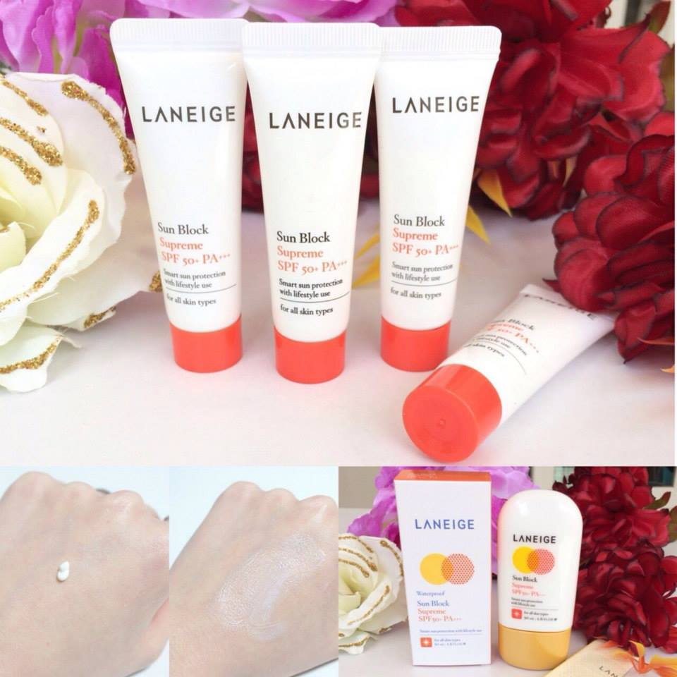 Laneige Sun Block Supreme SPF 50+/ PA+++ WATER PROOF