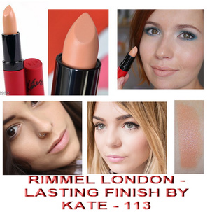 Rimmel Lasting Finish by Kate Moss Lipstick # 113