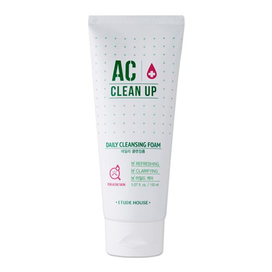 Etude AC Clinic Acne Foam Cleanser