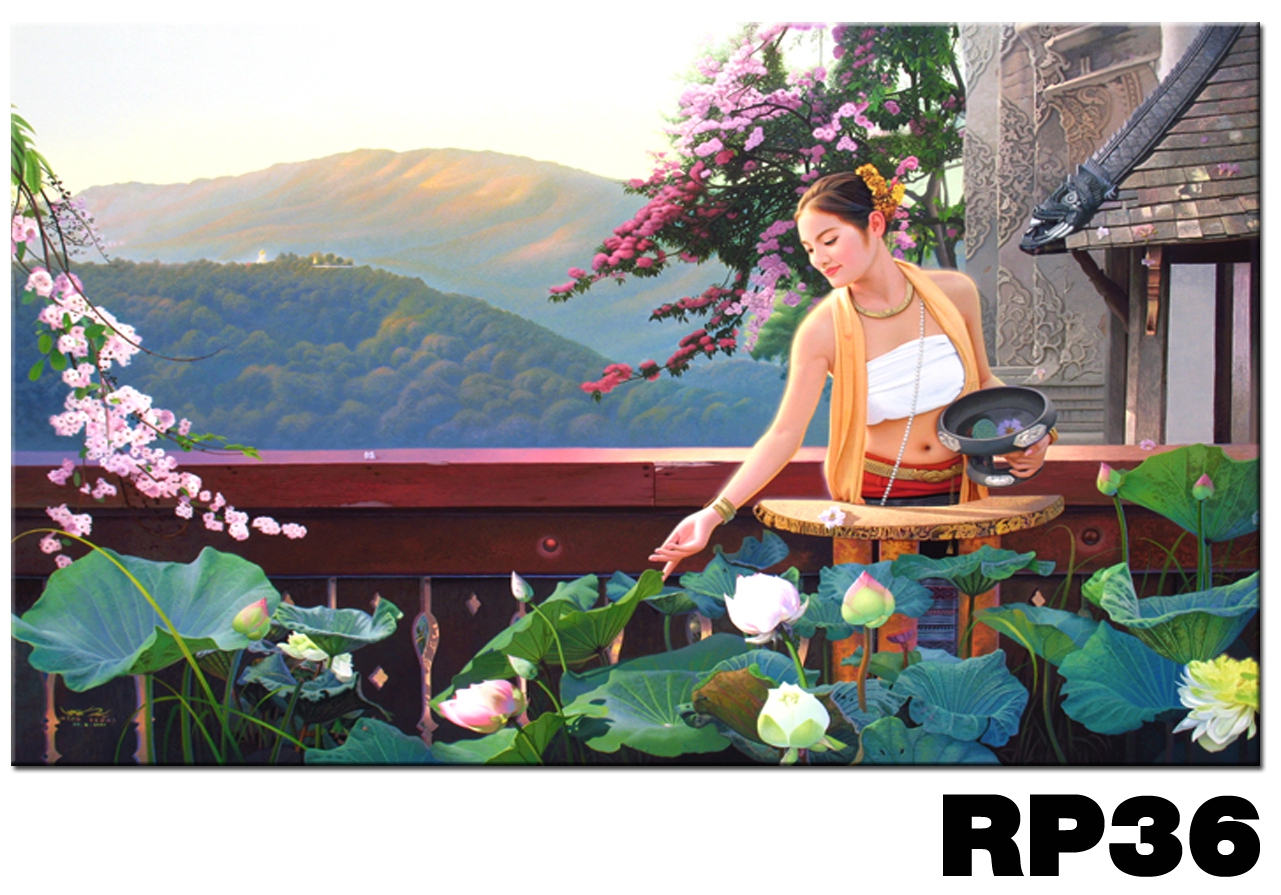 ภาพสำหรับประดับตกแต่งบ้าน ร้านสปา คอนโด โรงแรม รีสอร์ท RP - 36