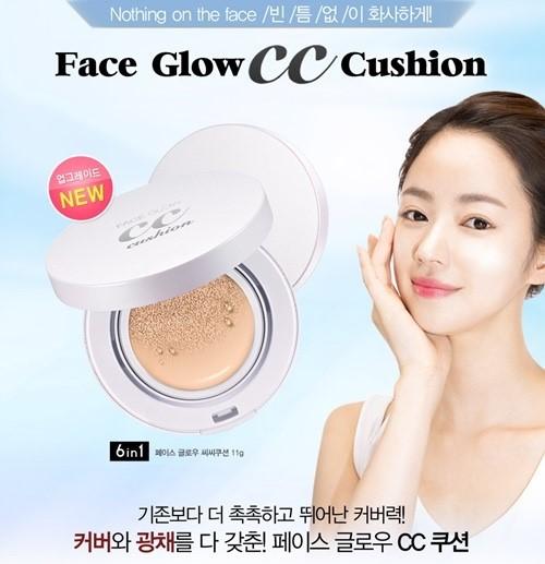Secret Kiss Face Glow CC Cushion SPF 50 PA+++