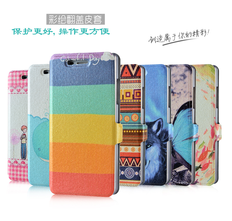 เคส OPPO Neo 5s -Cartoon Diary Case#2 [Pre-Order]