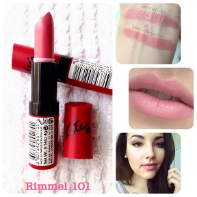 Rimmel Lasting Finish by Kate Moss Lipstick # 101 ROSSETTO (0.14 oz/ 4 g)