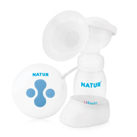 NATUR Electric single breast pump ปั๊มนมไฟฟ้าแบบเดี่ยว