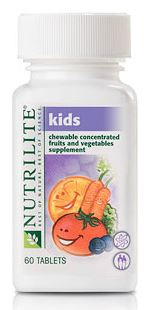 Nutrilite Kids Chewable Concentrated Fruits and Vegetables ผักและผลไม้เข้มข้น สำหรับเด็ก เหมาะสำหรับเด็กที่ไม่รับประทานผักและผลไม้ Amway USA