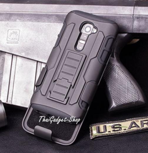 เคส LG G2 Mini D618 D620 ตรงรุ่น (Future Armor Impact Skin Holster Protector Swivel)