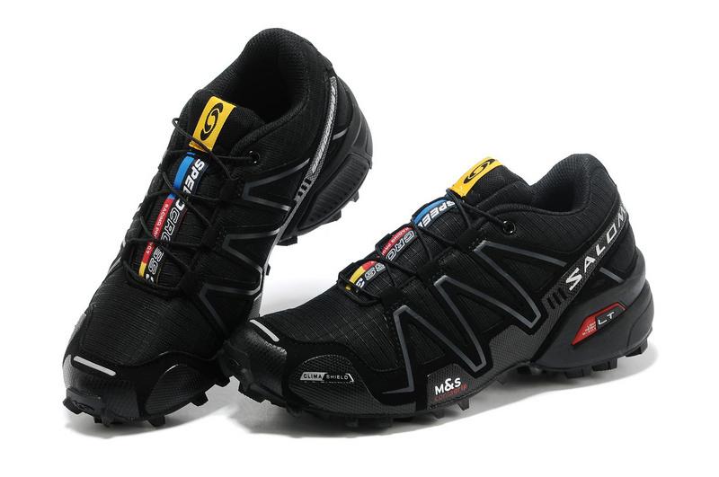 รองเท้า Salomon สีดำ-ดำ