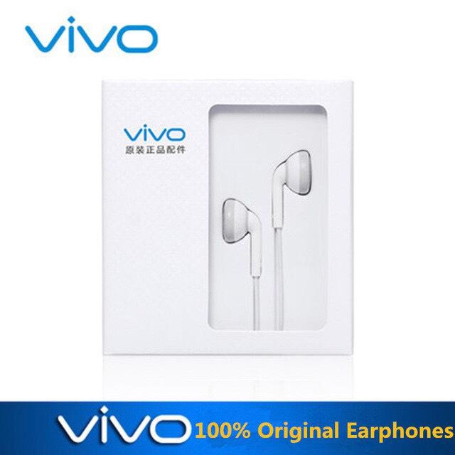 หูฟัง Vivo ear bud with Mic ของแท้ ใช้ได้กับมือถือทุกรุ่น