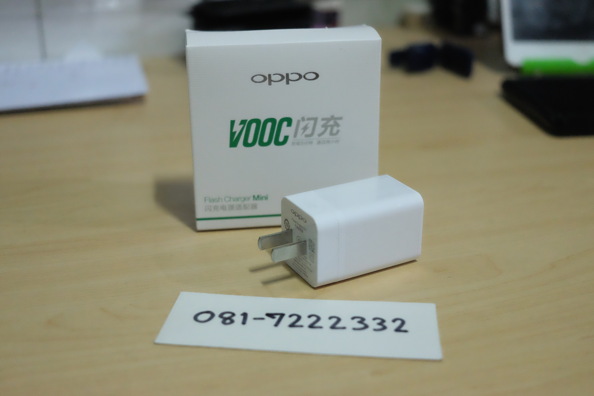 OPPO หัวชาร์จแบบชาร์จเร็ว VOOC Flash Charger Mini ใช้เวลาน้อยกว่า แต่ชาร์จได้มากกว่า