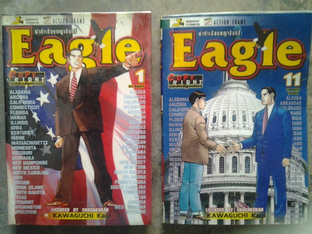 Eagle ผ่าทำเนียบพญาอินทรี 1-11 เล่มจบ