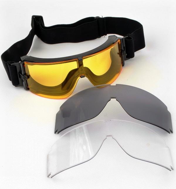 แว่นตา Goggle X800 เปลี่ยนเลนส์