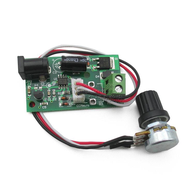 Micro pwm dc motor speed controller 6v12v24v arduino for Motor speed control methods