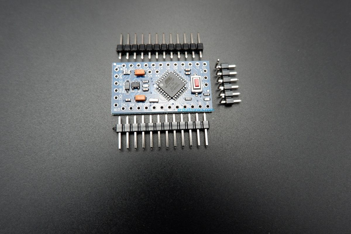 Arduino Pro Mini 3.3V (ATmega328P) + Free Pin Header
