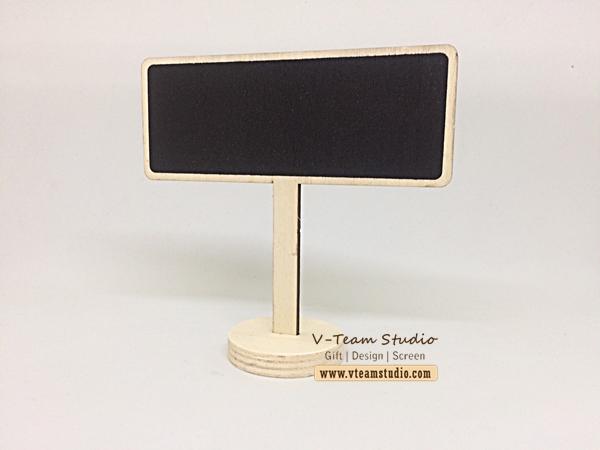 กระดานดำแบบตั้ง 12*4.8 cm (5 ชิ้น)