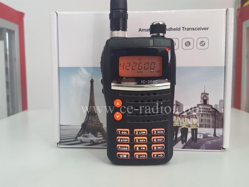 IC-300c UHF 400-470 MHz.