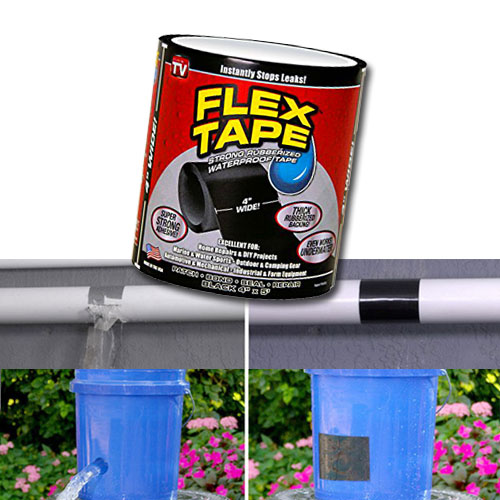 flex tape เทปกาว เทปกาวอเนกประสงค์ สีดำ