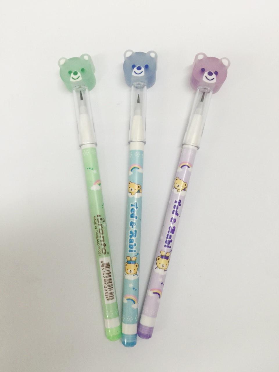 ดินสอต่อไส้้หัวยางลบ (ขายส่งกระป๋อง 24 แท่ง)