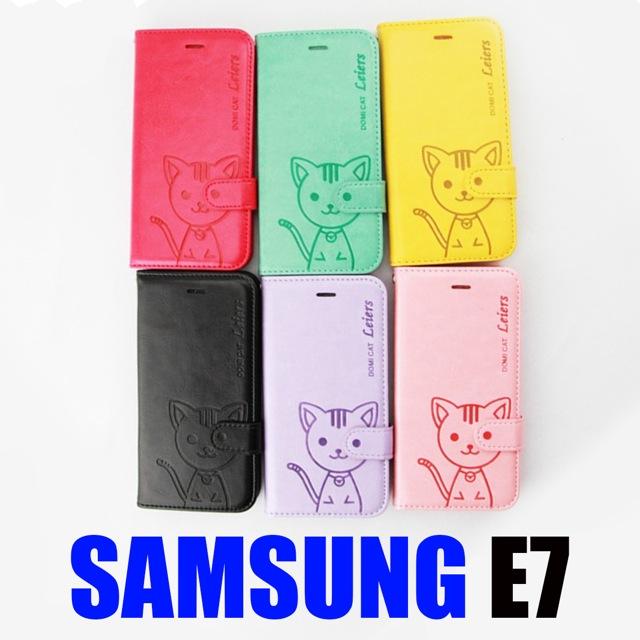เคส Samsung E7 Domicat ราคา 135 บาท ปกติ 350 บาท