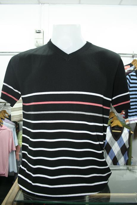 เสื้อยืดผู้ชาย คอวี แขนสั้น Cotton เนื้อดี รหัส MC0750 Size L