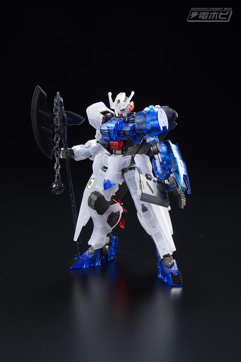 [Expo] HG 1/144 Gundam Astaroth Axe & Chopper Clear Ver.