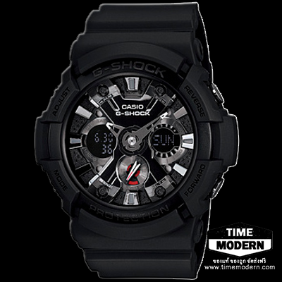 นาฬิกา Casio G-Shock Standard Ana-Digi รุ่น GA-201-1ADR