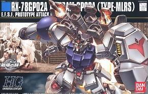 HGUC 1/144 75 GP02a Gundam Type MLRS 2200y