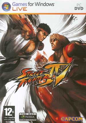 Street Fighter IV ( 1 DVD )