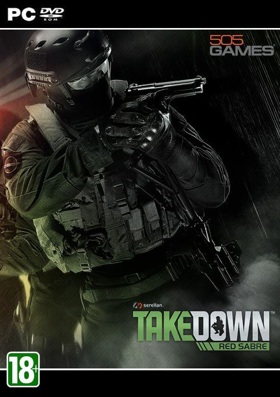 Takedown Red Sabre ( 1 DVD )